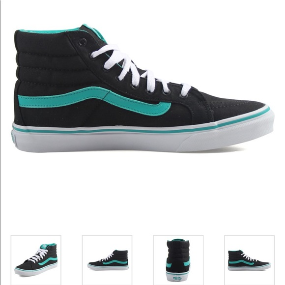 9b78992763 🔥Sale Vans Sk8-Hi Slim POP Columbia Black Shoes